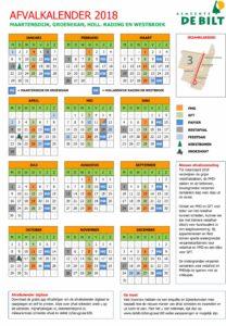 Afvalkalender 2018
