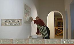 Het maken van een Fresco